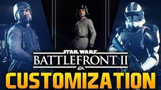NEW CUSTOMIZATION HERO SKINS Star Wars Battlefront 2 Hero Skins Trooper Customization