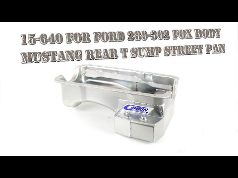 Ford 302 Stud Canton Racing 20-950 Oil Pump Pickup