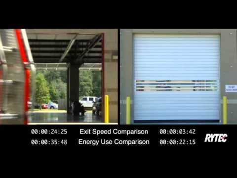 Rytec Doors Fire Station Side-by-Side Comparison  sc 1 st  YouTube & Rytec Doors Fire Station Side-by-Side Comparison - YouTube