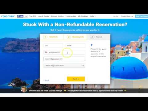 How To Sell Your Hotel Room Reservation On Roomer