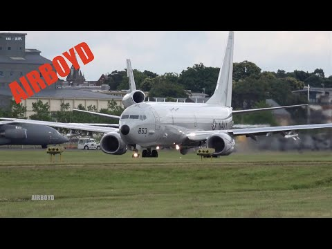 Boeing P-8 Poseidon Flight Demonstration - Farnborough Airshow 2016 (Tuesday)