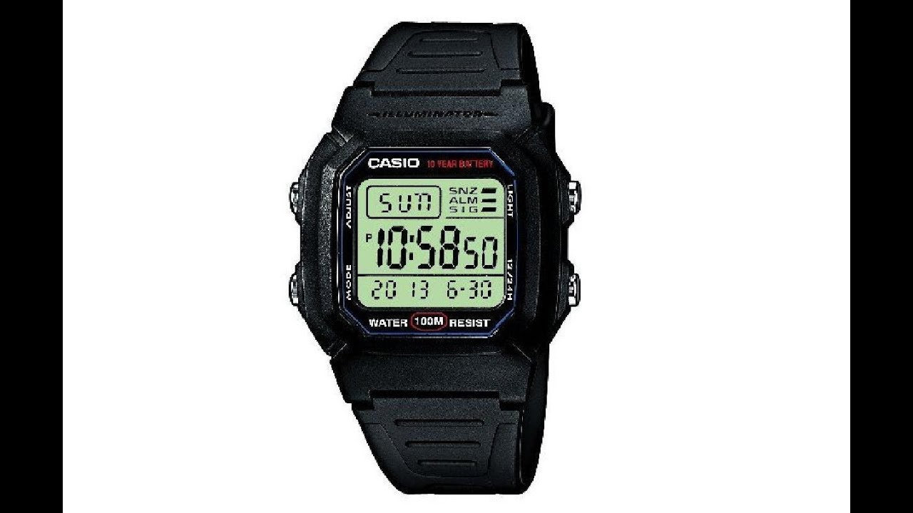 My Casio Collection W 800H 1AVES Mens Watch Review