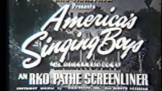 Americas Singing Boys - 1951 RKO Screenliner