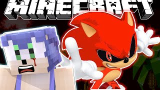 MINECRAFT Red Sonic Takes Over!
