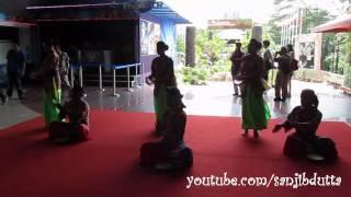 Traditional Malaysian dance @ KL Tower, Kuala Lumpur