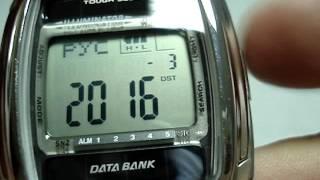 Настройка часов Casio DB E30D 1AVEF