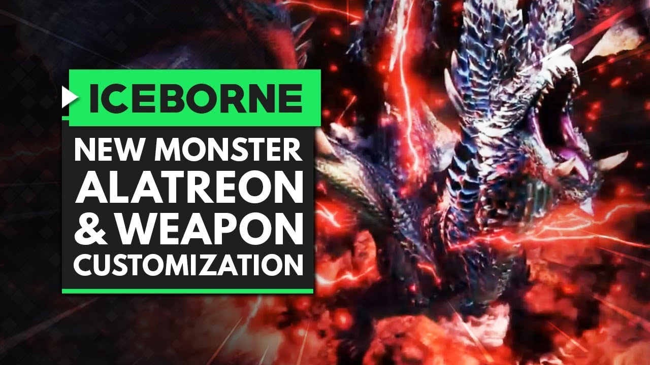 Monster World Iceborne New Monster Alatreon Coming In May
