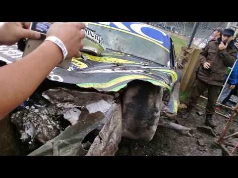Accidente Turismo Carretera Concordia TC Pista