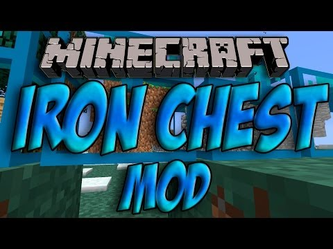 how to download iron chest mod