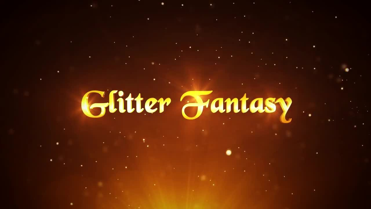 Glitter Fantasy After Effects Templates