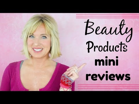 BEAUTY Products Mini REVIEWS ~ MAKEUP, HAIR & SKIN CARE! thumbnail