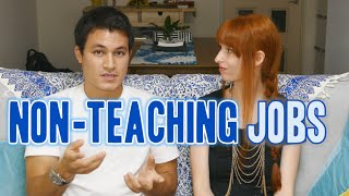 Finding non-English teaching jobs in Japan 外国人の職探し (インタビュー)