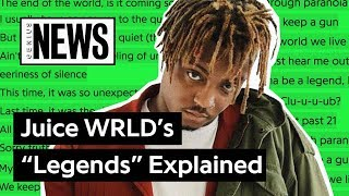 "Juice WRLD's ""Legends"" (XXXTENTACION & Lil Peep Tribute) Explained 
