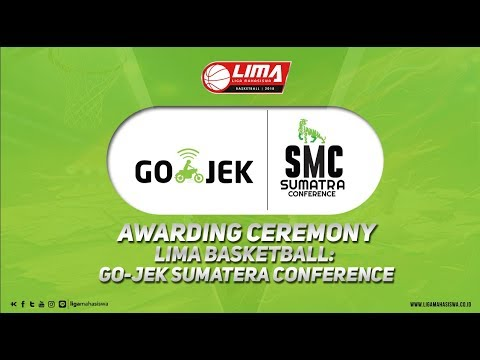 AWARDING CEREMONY LIMA BASKETBALL:SEASON 6 GO-JEK SUMATERA CONFERENCE 2018