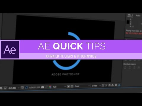 Easy Animated Pie Chart (Infographic) | After Effects CC Quick Tips