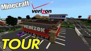 Minecraft Verizon Wireless Store Tour