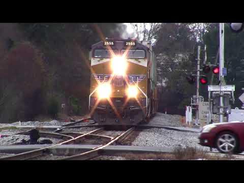 NORFOLK SOUTHERN TRAINS SHOT IN AUSTELL,GA. DECEMBER 2016 PART #1