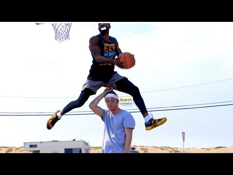 INSANE Dunks and AWESOME CELLY's in LA!