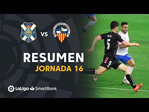 Tenerife Sabadell CE Goals And Highlights
