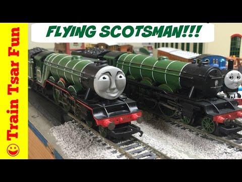 Thomas & Friends THE FLYING SCOTSMAN! OO GAUGE Hornby