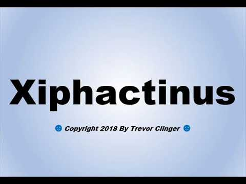 How To Pronounce Xiphactinus - YouTube