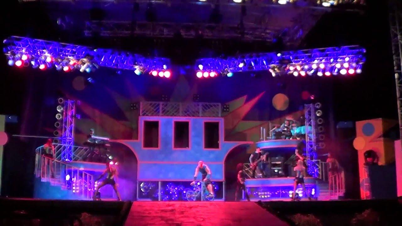 Kinetix 2013 Busch Gardens Tampa Full Show in HD