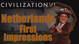Video Civilization 6: First Impressions - Netherlands Civilization download MP3, 3GP, MP4, WEBM, AVI, FLV Maret 2018