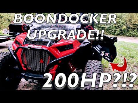 RZR Turbo S Upgrade! Boondocker Tuner, Clutch kit, BOV! 200 Horsepower?!