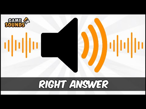 Right Answer - Sound Effect [HD]