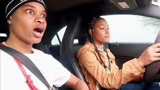 TEACHING MY GIRLFRIEND HOW TO DRIVE!!!