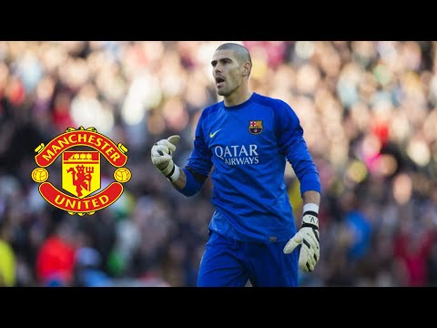 Víctor Valdés - Welcome to Manchester United  - Best Saves - 2013/14 HD
