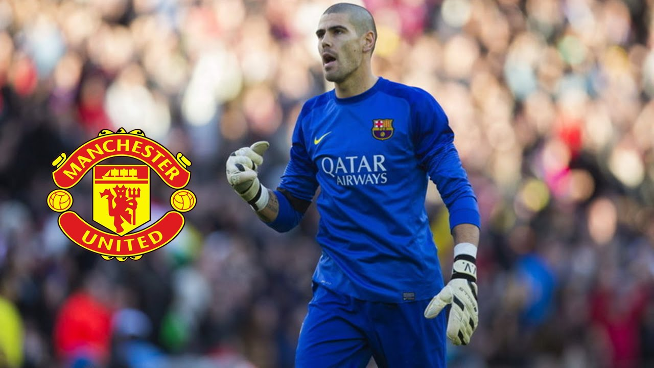 V­ctor Valdés Wel e to Manchester United Best Saves 2013