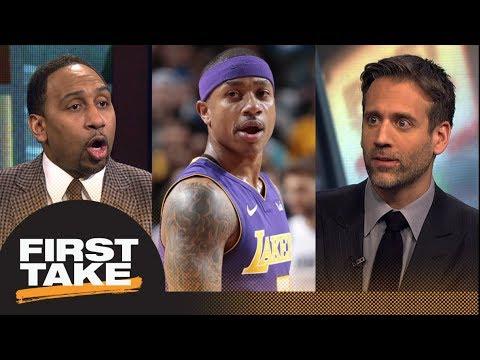 First Take debates if Isaiah Thomas' 'power back' comment shot at LeBron James | First Take | ESPN