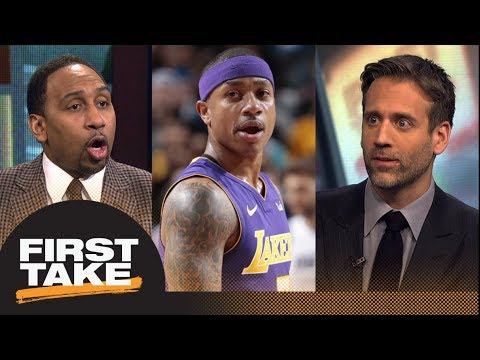 First Take debates if Isaiah Thomas' 'power back' comment shot at LeBron James | First Take | ESPN