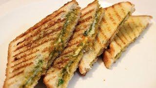 Chilli Cheese Pizza Sandwich on Tawa Recipe   2 minute cheese recipe