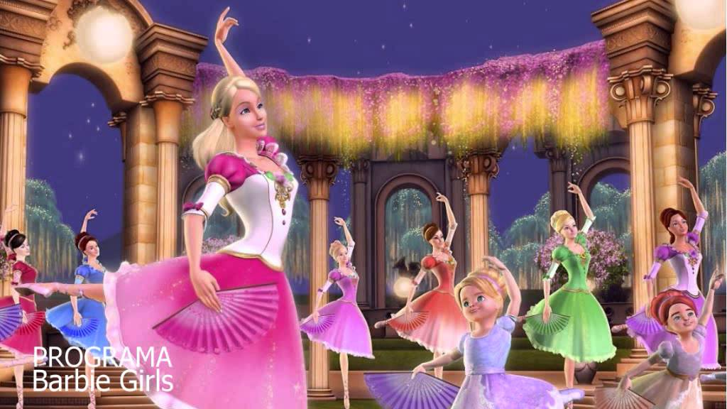 barbie in the 12 dancing princesses shine audio youtube