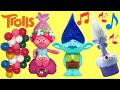 TROLLS Poppy Gumball Dispenser & Branch Coin Bank with Toys Unlimited