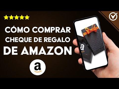 Cómo Comprar, Regalar y Enviar un Cheque Regalo de Amazon a otra Persona