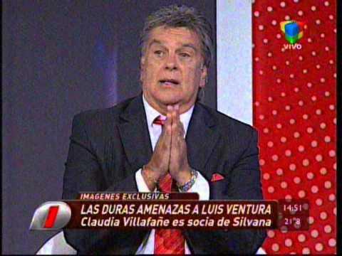 Luis Ventura mostró las imágenes de Silvana y Claudia.