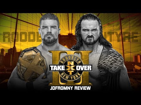 WWE NXT Takeover Brooklyn 3 Full Show Review & Results: THE DEBUT OF ADAM COLE BAY BAY!