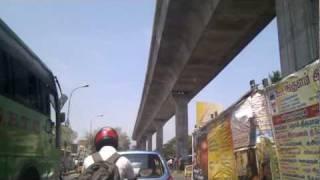 Chennai Metro Rail - Ashok Pillar to Lakshman Shruthi
