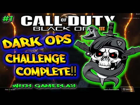 Black Ops 3 Dark Ops Challenges - Dark Ops Challenge - Secret Gear - How To Complete