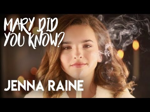Mary Did You Know? - Jenna Raine Simmons