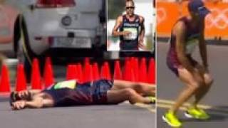 Rio 2016 | Heroic French race walker pooped his pants, collapsed, then finished a 50k race