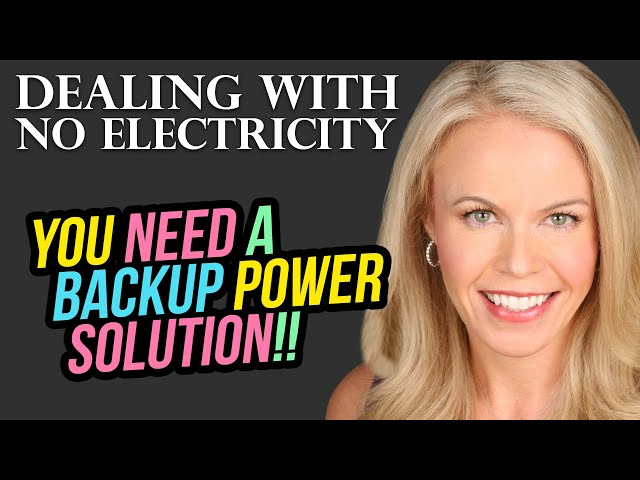 Why You Need Back-up Electricity Solution and How Refinancing Can Help Fund It