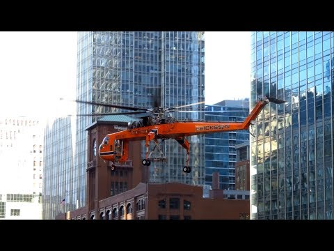 Helicopter Lift Job