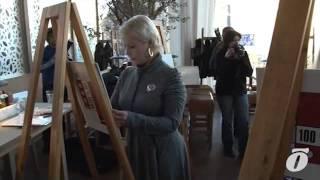 Eesti kuulsused maalisid heategevuse nimel ingleid