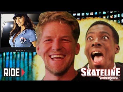 SKATELINE - Dennis Busenitz Guest Stars,...
