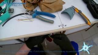 Подключение трёхфазной розетки за 2 минуты