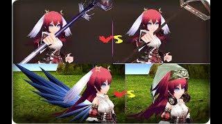Iruna Online - M. Ninja Test [Tenchi Bansho] Tellas 🆚 Uni/ Sage 🆚 Faw